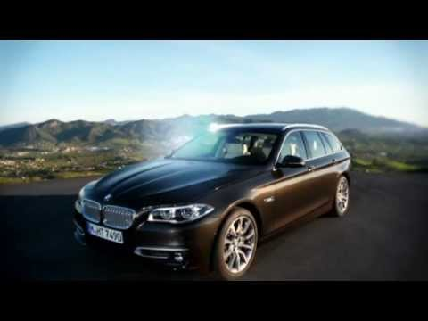 The new  BMW 5 Series Sedan  Touring and Gran Turismo