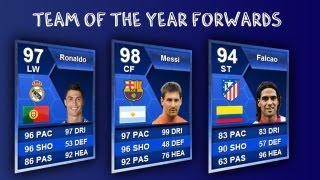 FIFA 13 Ultimate Team | Team of the Year Forwards | Pack opening