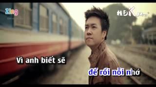 Bài hát để kết thúc - Lê Hiếu - karaoke ( only beat )