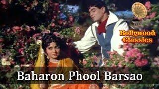 Baharon Phool Barsao - Suraj - Mohammed Rafi's Greatest Hindi Song - Shankar Jaikishan Songs