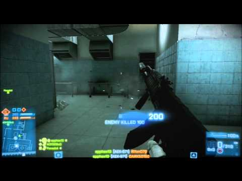 Battlefield 3 - Close Quarters DLC Conquest Domination first night gameplay Ps3