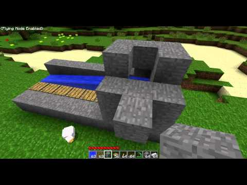 MineCraft (TUT) - Conveyor with item detector (Pressure Plates)