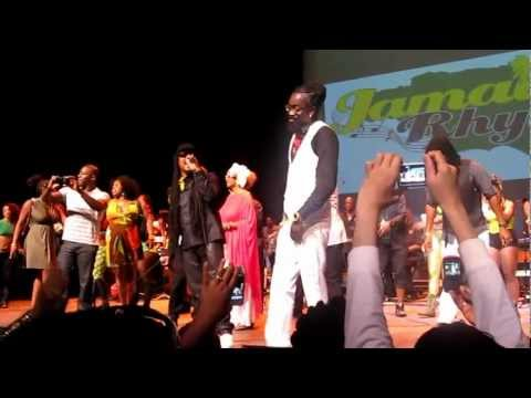 Beenie Man Performing At Jamaican Rhythms 50 In Toronto
