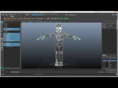 Softimage to Maya Bridge: Sharing Models Using Assets in Maya