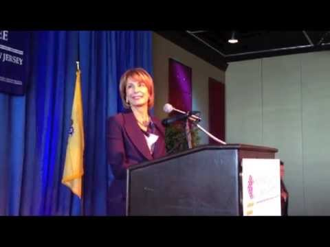 Barbara Buono, Democrat's candidate for NJ Governor,