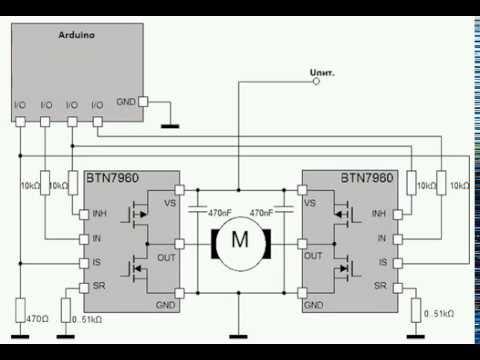 Схемы для управления мощными двигателями