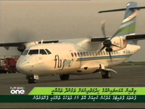 Villa Air Flight Arrived Maale - Dhivehi News 20:00 hrs (03 Mar 2011)