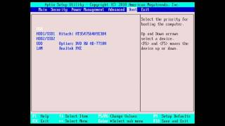 Toshiba How-To: Setting The System Boot Priority in Bios - YouTube