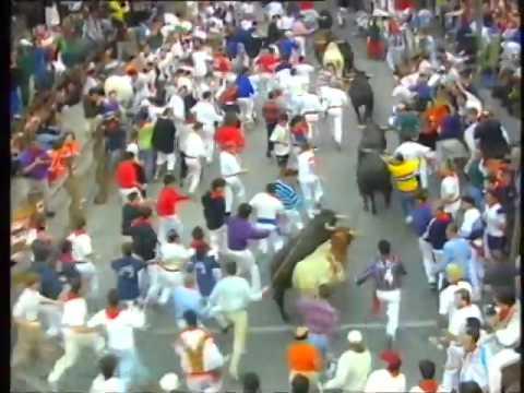 Encierro de San Fermín   8 de julio de 1998 480p