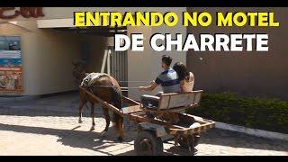 CONHEÇA O CASAL QUE ENTROU DE CHARRETE NO MOTEL