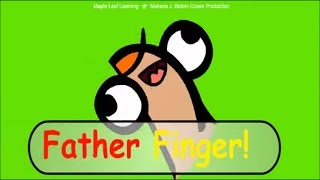 The Finger Family Song, Father Finger Where are you, MapleLeaf