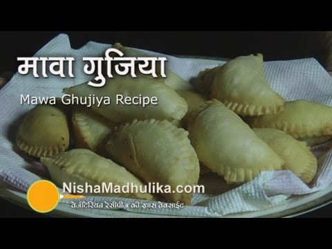 Gujiya Recipe  - Mawa Ghujiya Recipe