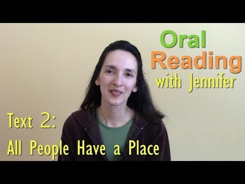 Oral Reading Fluency 2: