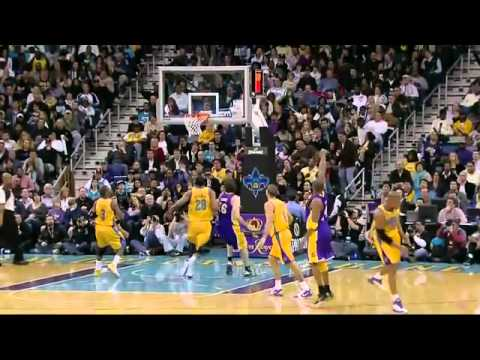 Los Angeles Lakers vs New Orleans Hornets Kobe Bryant Highlights HD 2/5/2011