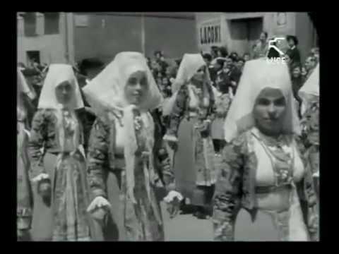 Processione di Sant'Efisio a Cagliari / 1 Maggio 1953 [ Istituto LUCE ]