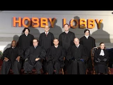 (Corporations) Are Now Religious People - Thanks Supreme Court!  7/1/14