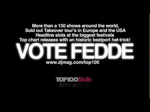 Fedde Le Grand - Why vote for Fedde in 60 Seconds