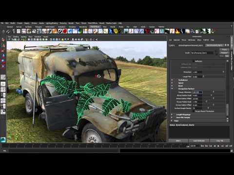 Maya Tutorial: Paint Effects Enhancments