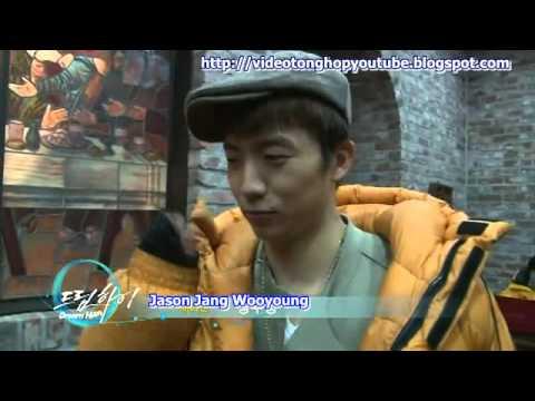 Hậu trường phim Dream High -Cảnh hôn nhau 2PM Wooyoung và IU