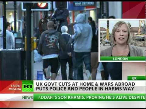 UK fights wars, retreats in riots? London outraged at police fail