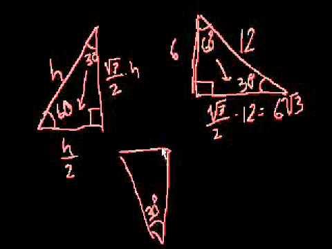 Triangoli 30-60-90 Parte 2
