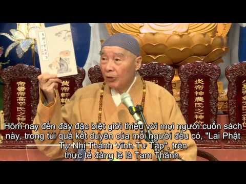 Khai Thị Pháp Hội Trung Phong Tam Thời Hệ Niệm tiết thanh minh 2014 - Pháp Sư Tịnh Không