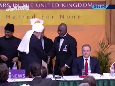 National Peace Symposium 2013 by Ahmadiyya Muslim Community - MTA News Report