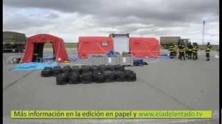Segovia acoge un simulacro de emergencia nacional