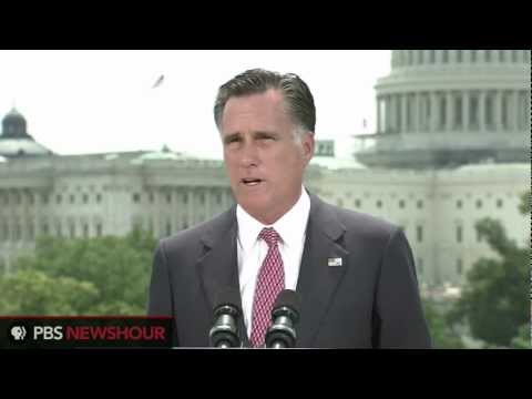 Watch Full Romney Response to Health Care Ruling: &quot;I Will Act to Repeal Obamacare&quot;