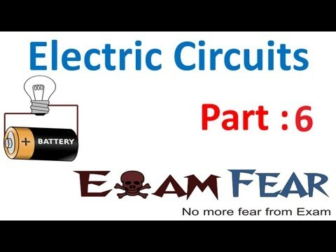 Physics Electric Circuits part 6 (Potential Difference of Cell) CBSE class 12