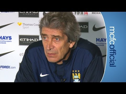 PELLEGRINI ON MESSI RUMOURS | City v Wigan FA Cup press conference