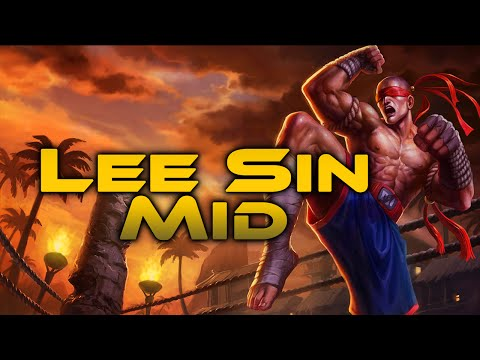 League of Legends - Lee Sin Mid - Full Game Commentary