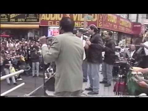 Pete El Conde Rodriguez Concierto En Fordham Rd. Bronx 1980