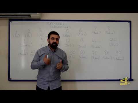 """تعلم اللغة التركية مع الاستاذ ابراهيم اسكي اوجاك  """" الحلقة الرابعة  """""""