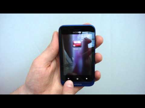 Sony Xperia tipo - Hands On Walkthrough On Video