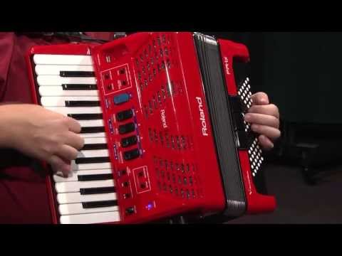 Roland FR-1X Piano V-Accordion with Speaker Review | Full Compass