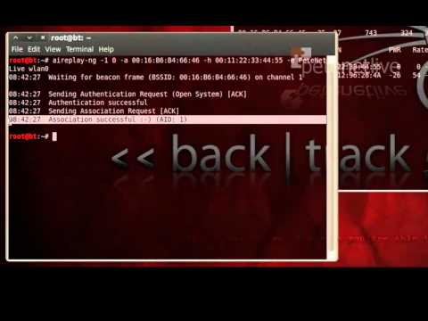 Hacking Wireless WEP Keys with BackTrack and Aircrack-ng