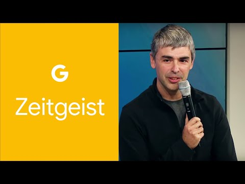 Larry Page &amp; Q&amp;A with Eric Schmidt at Zeitgeist Americas 2011