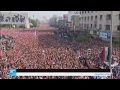 مظاهرات حاشدة في بغداد للمطالبة بالإصلاح ومكافحة الفساد  - 20:21-2017 / 3 / 24