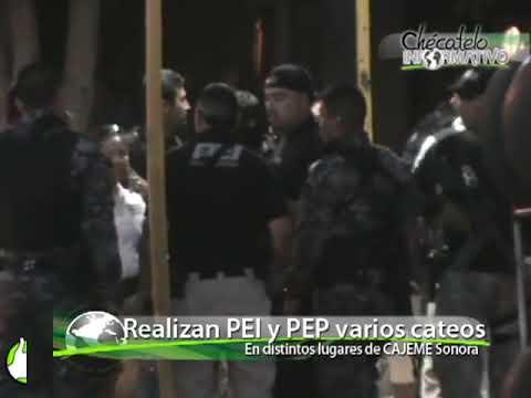 Cateo en Villa Bonita relacionado a asesinato de policías