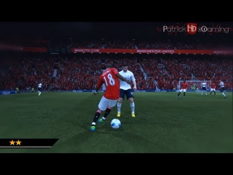 Fifa 12 | Stepover Tutorial | +Reverse Stepover | Skills Guide | HD