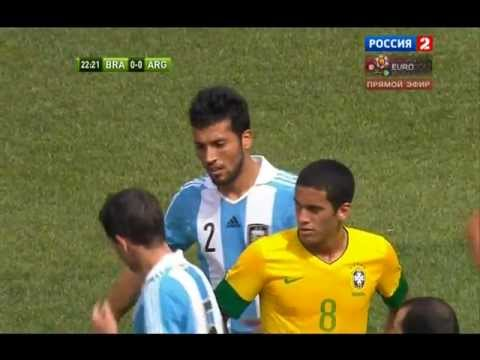 Argentina - Brazil 4:3 | All Goals Full HD 1080p