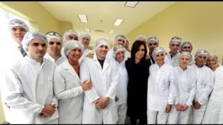 03 de Nov. Nueva fábrica de vacunas antigripales Escobar. Cristina Fernández de Kirchner