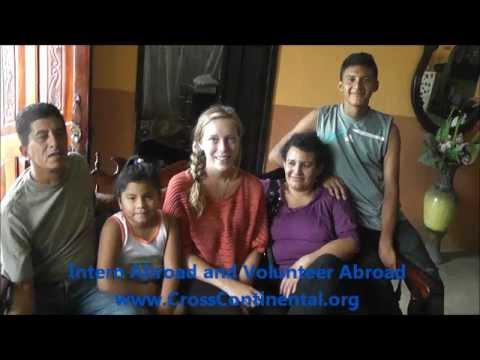 A CrossContinental Volunteer shares her homestay and experience teaching English in Ecuador.