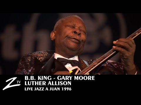 BB King, Gary Moore, Luther Allison - Jazz à Juan 1996 (Official)