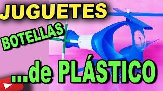 Reciclaje Youtube.Manualidades con botellas de plástico