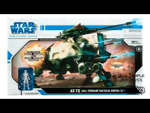 Unboxing of the Clone Wars AT-TE (All Terrain Tactical Enforcer)
