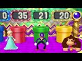 Фрагмент с средины видео - Mario Party 10 Coin Challenge - Daisy vs Rosalina vs Waluigi vs Donkey Kong Gameplay |CRAZYGAMINGHUB