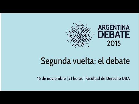 <b>Segunda vuelta.</b> el debate entre Daniel Scioli y Mauricio Macri