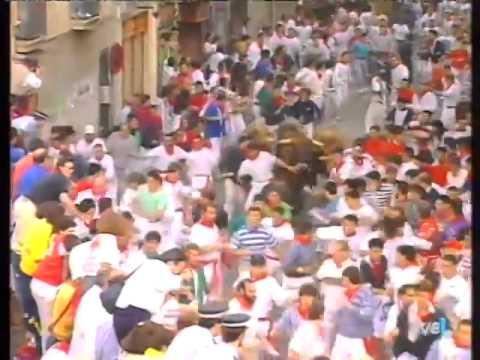 Encierro de San Fermín   14 de julio de 1994 480p